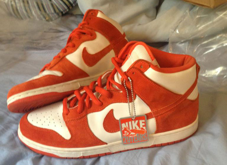 Spotlight // Pickups of the Week 9.1.13 - Nike Dunk High SB BTTYS Syracuse by chumlee