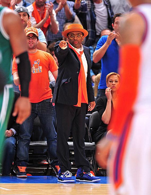 Spike Lee Knicks Outfit