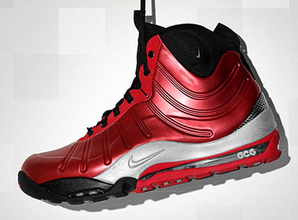 5a1585a0d6a Nike Air Max Posite Bakin  Boot - Black   Red