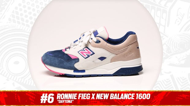 Complex Best of 2013: Ronnie Fieg x New Balance 1600 'Daytona' is the #6 Sneaker of the Year