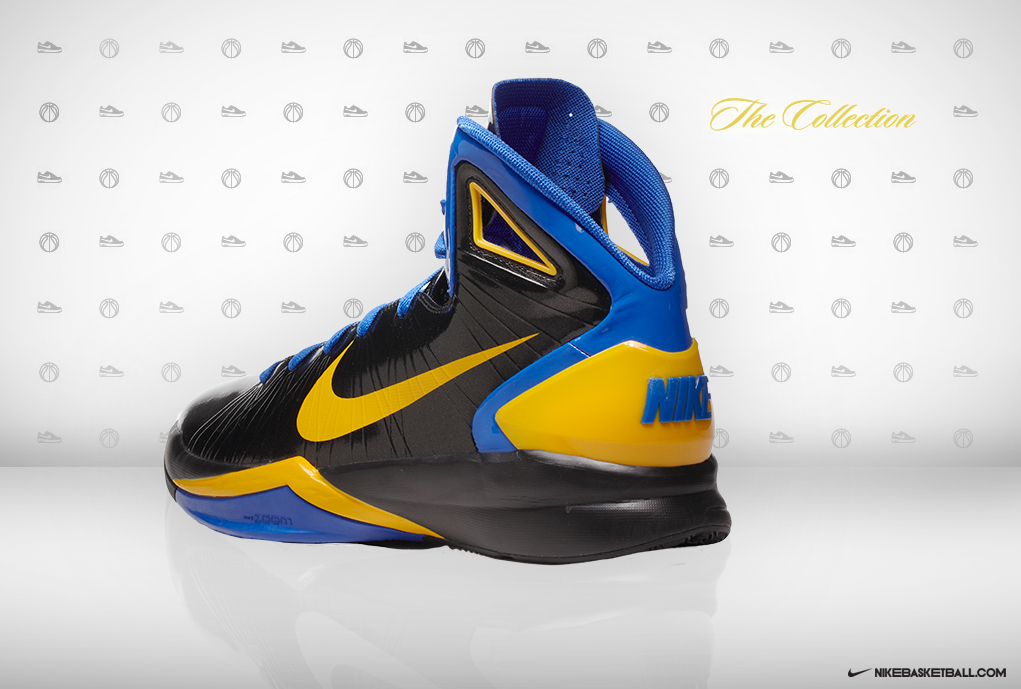 stephen curry college nike sneaker