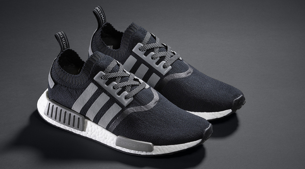 adidas nmd black and grey