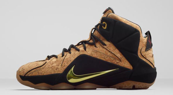 2c147d04b6f13 The  Cork  Nike LeBron 12 Release Is Just a Week Away