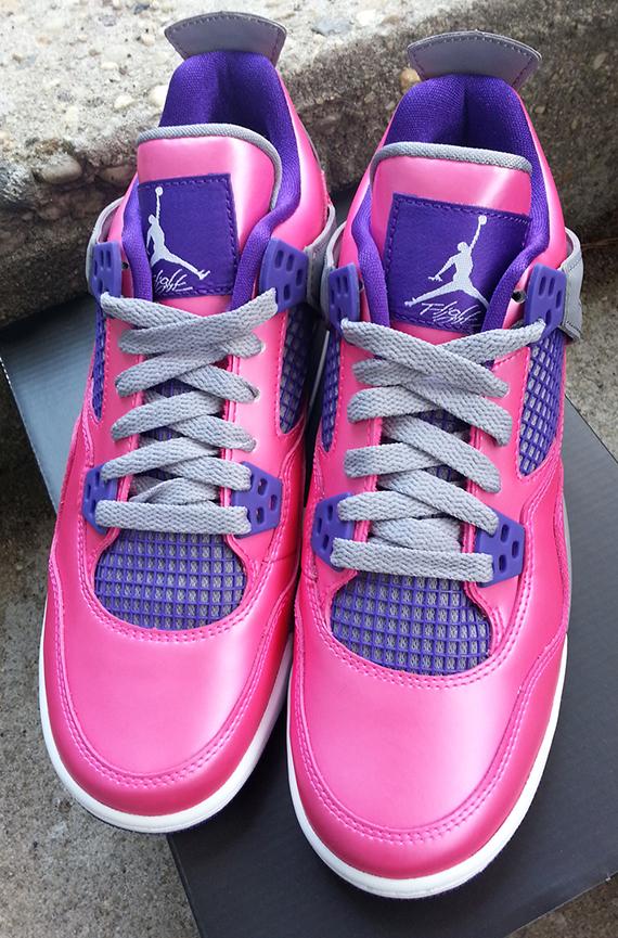 quality design 45d51 3150e Air Jordan 4 Retro GS - Pink Flash
