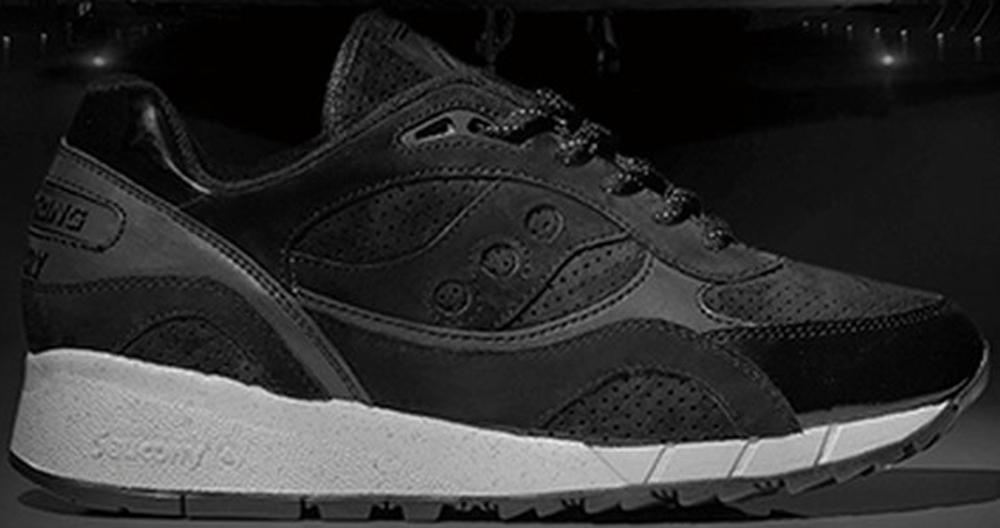 Saucony Shadow 6000 Black/Grey