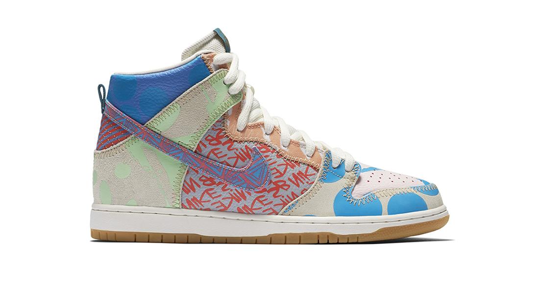 Thomas Campbell x Nike SB Dunk High