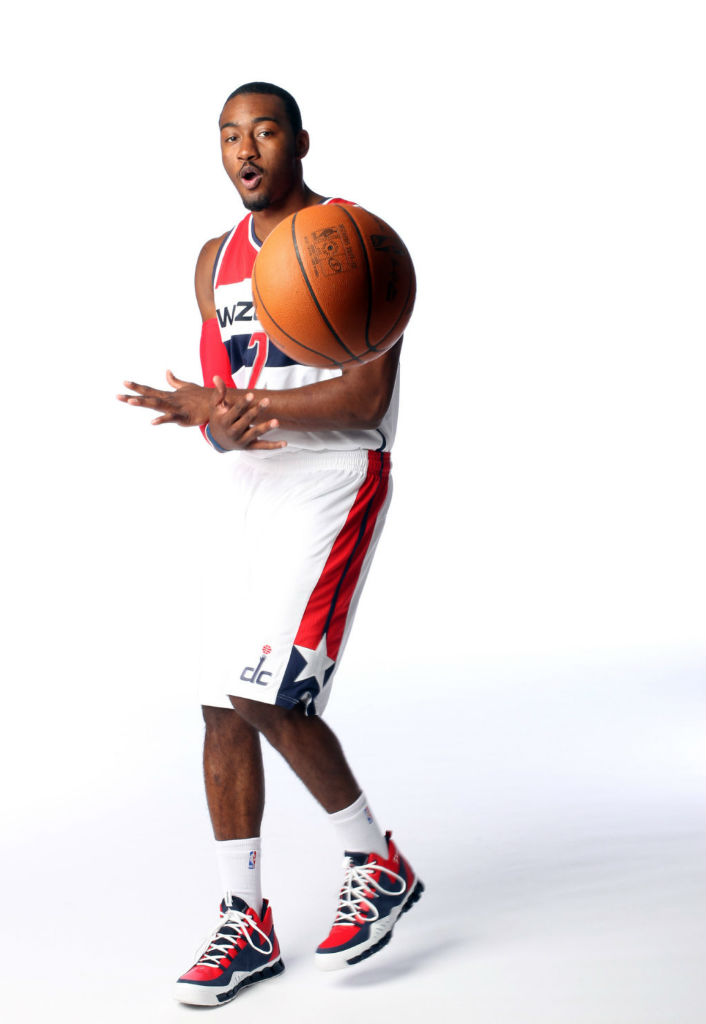 John Wall wearing Reebok Season 3 Zig Escape