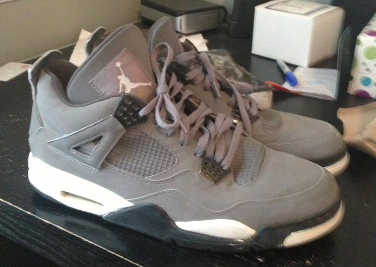 Spotlight // Pickups of the Week 6.9.13 - Air Jordan 4 Retro Cool Grey by chumlee
