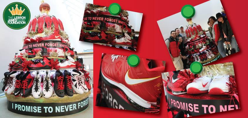 Christmas Sneakers.Lebron James Family Foundation I Promise Sneaker Christmas