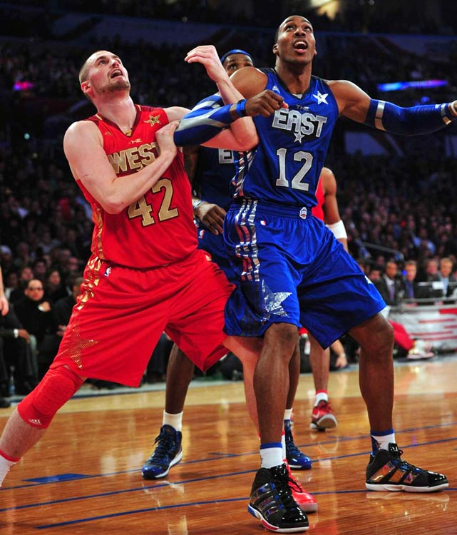 "Dwight Howard wearing the adidas Superbeast - ""All-Star"""