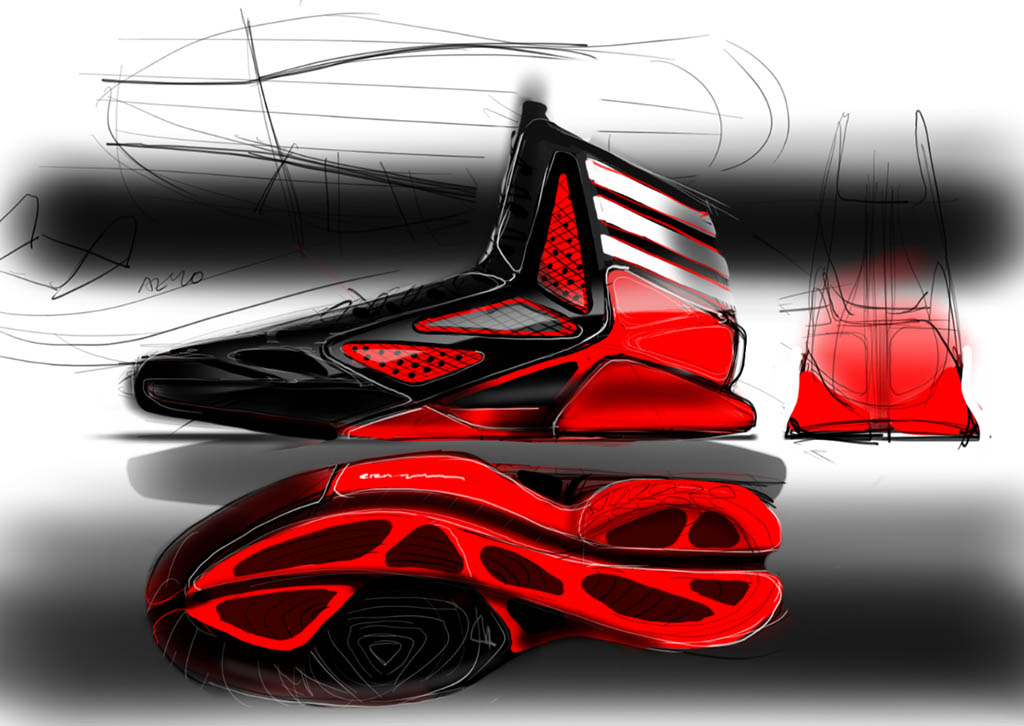 adidas adiZero Crazy Light 2 Sketch (8)