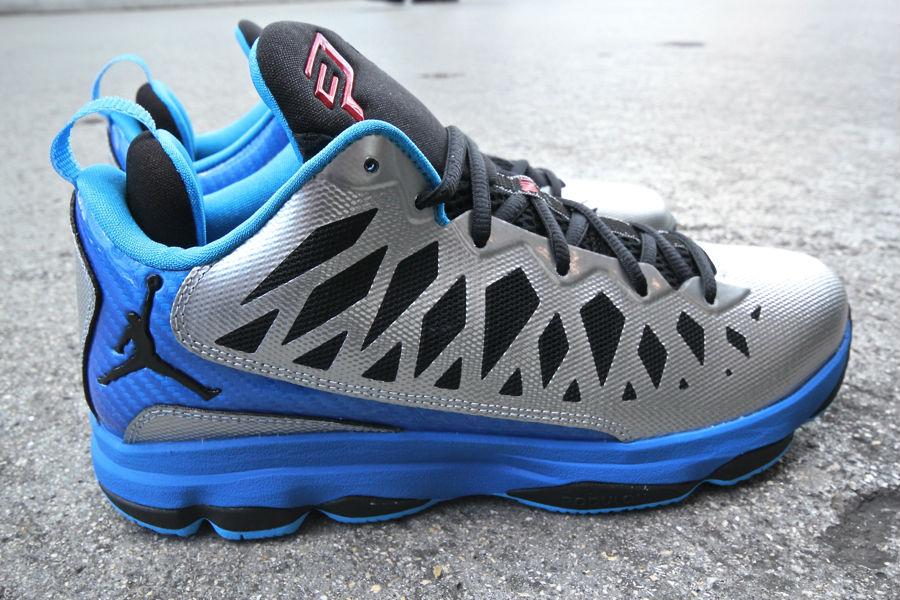 0531342f1d1 Jordan CP3.VI Metallic Silver Black Signal Blue Blue Glow 535807-021 (1