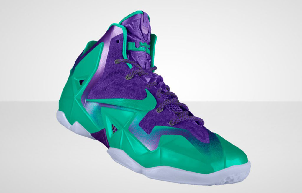 NIKEiD LeBron 11 'Forging Iron' Option (6)