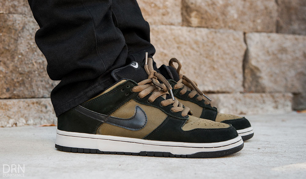 dunksrnice in the 'Loden' Nike Dunk Low SB