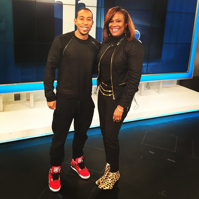 Ludacris wearing Air Jordan IV 4 Toro