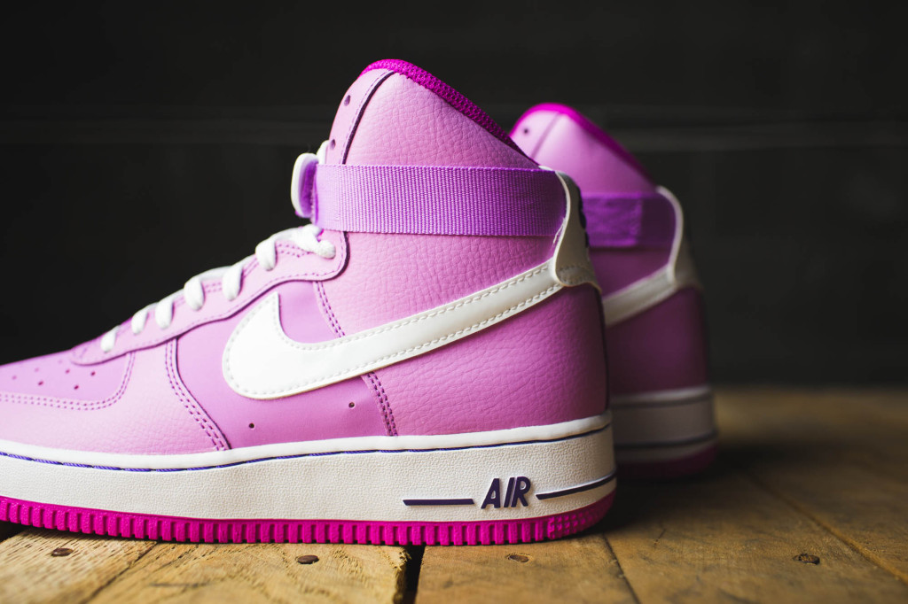 brand new 26477 f3d8f pink air force 1 high top