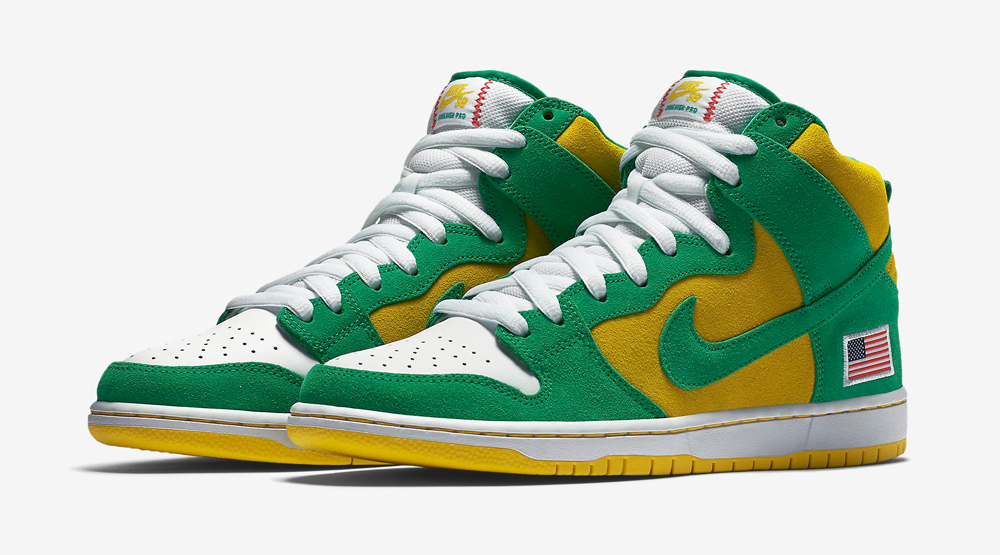 3c3884e4dbdd7 Nike SB Celebrates the 1990 World Series and the Oakland A's | Sole ...
