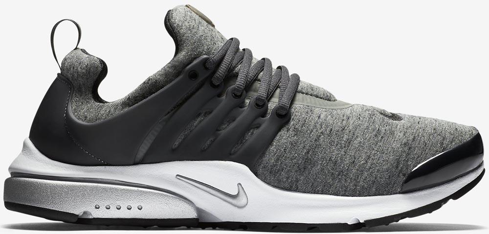 Nike Air Presto Grey Tech Fleece