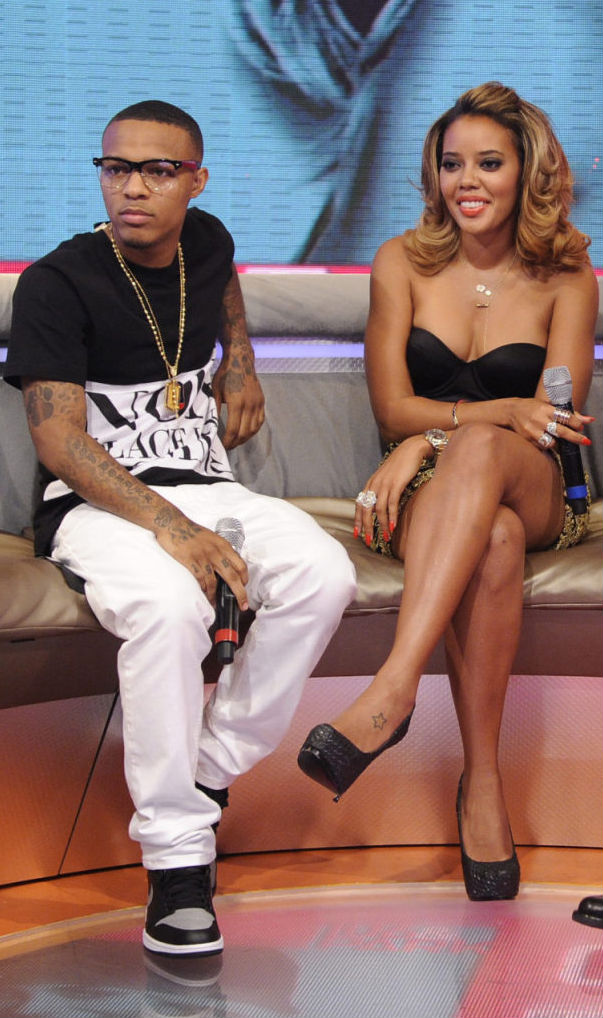 Bow Wow Wearing Air Jordan I 1 Retro High OG Black Grey (1) f68d8b214