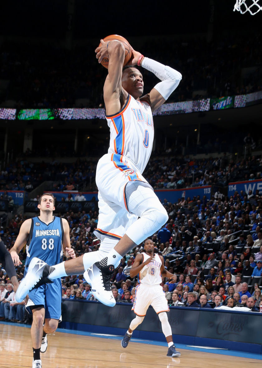 Russell Westbrook Debuts the Air Jordan XXX (5)