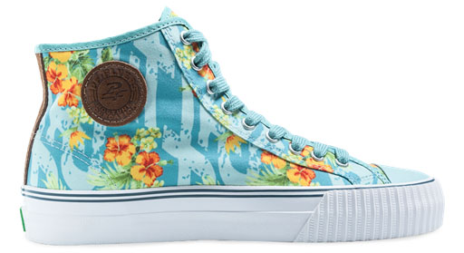 PF Flyers Center Hi Floral Pack (3)
