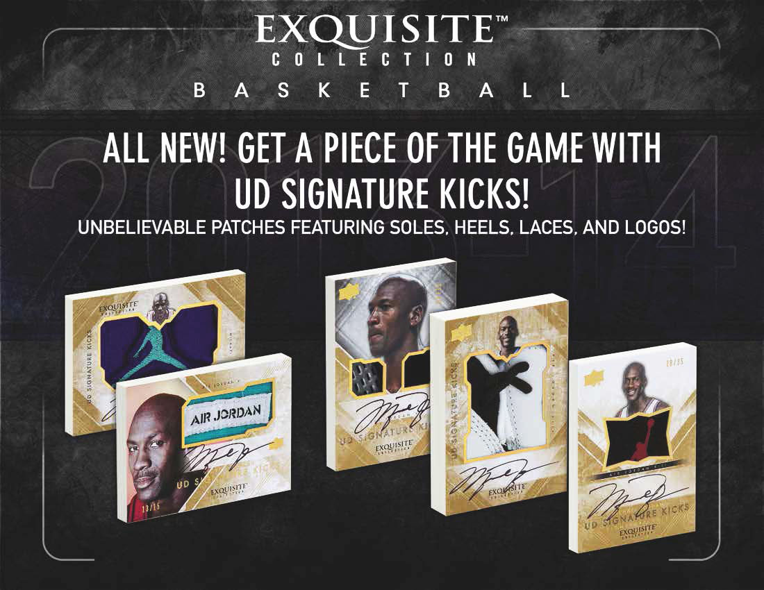New Upper Card Set Features Michael Jordan Autographed Shoe Series (1)