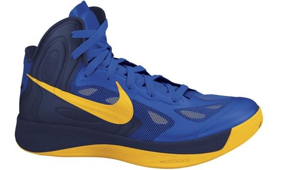 Nike Zoom Hyperfuse 2012 Game Royal/Obsidian-University Gold
