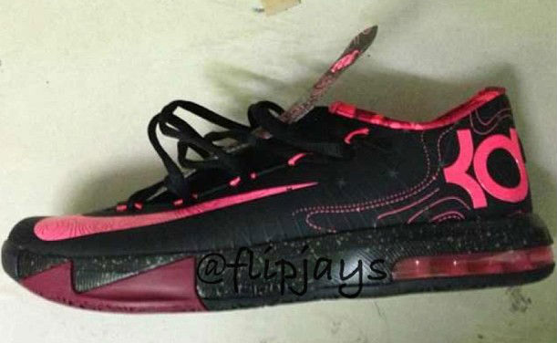 black and pink kd 6