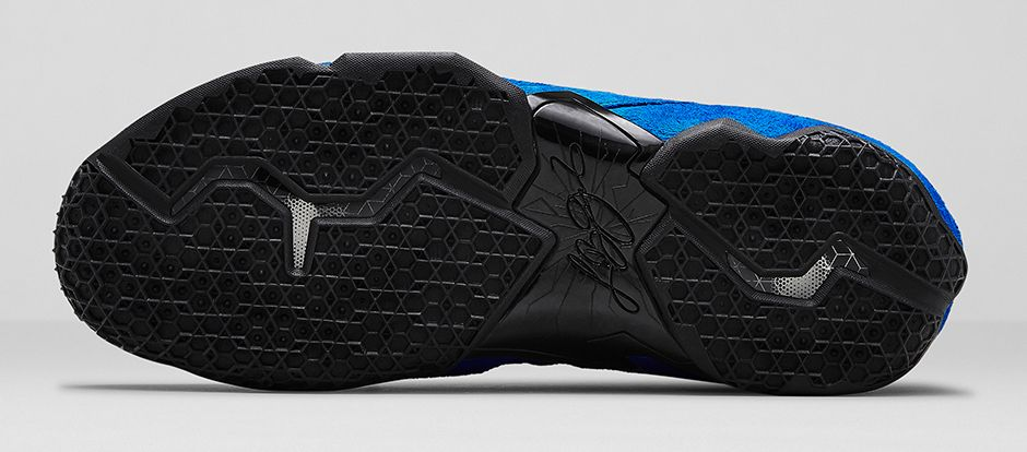 Nike LeBron 11 EXT Blue Suede Outsole