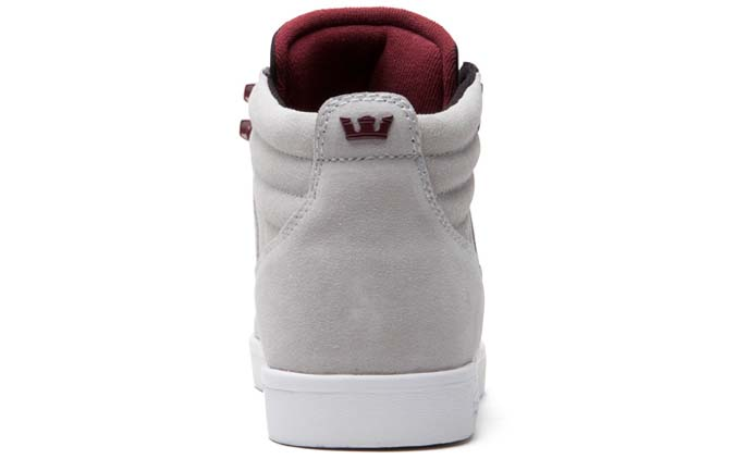 Supra Bandit Light Grey Tom Penny Shoes (4)