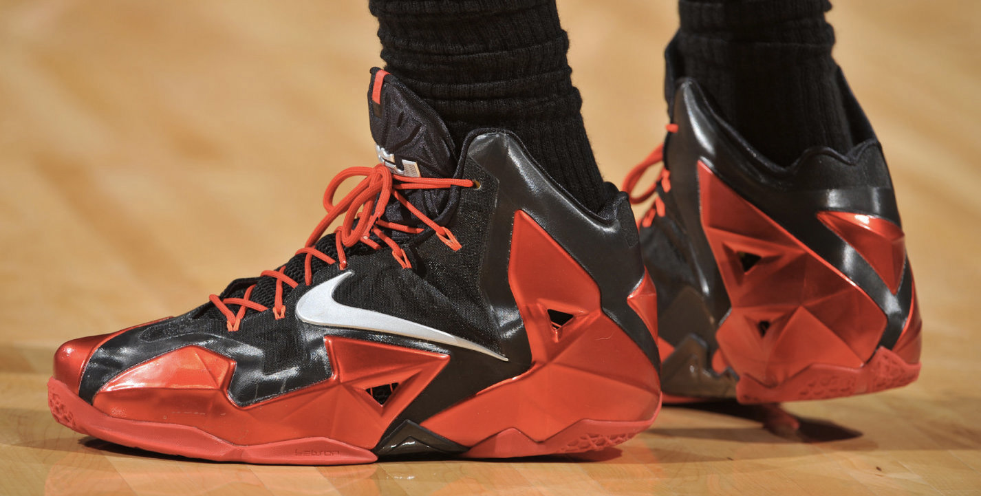 all red lebron 11