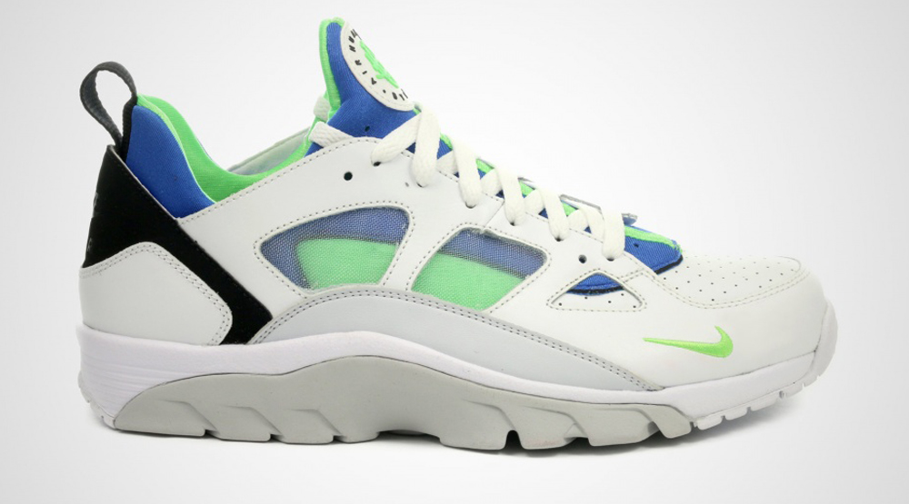 outlet store 7b479 9f902 Nike Air Trainer Huarache Low Scream Green