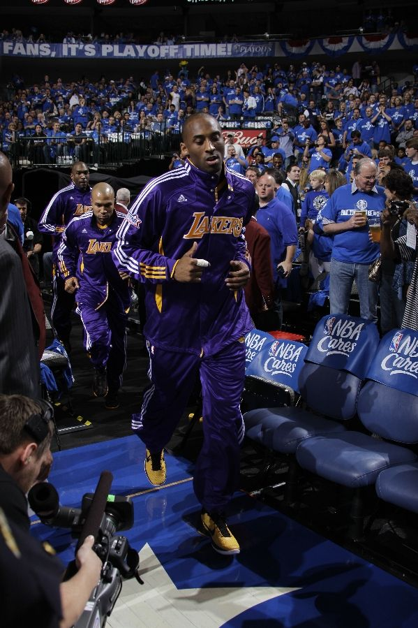 Kobe Bryant wearing the Nike Zoom Kobe VI POP