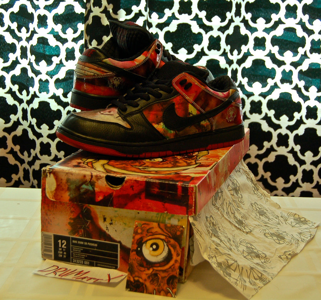 Spotlight // Pickups of the Week 5.12.13 - Nike SB Dunk Low Pushead by DRUMattX