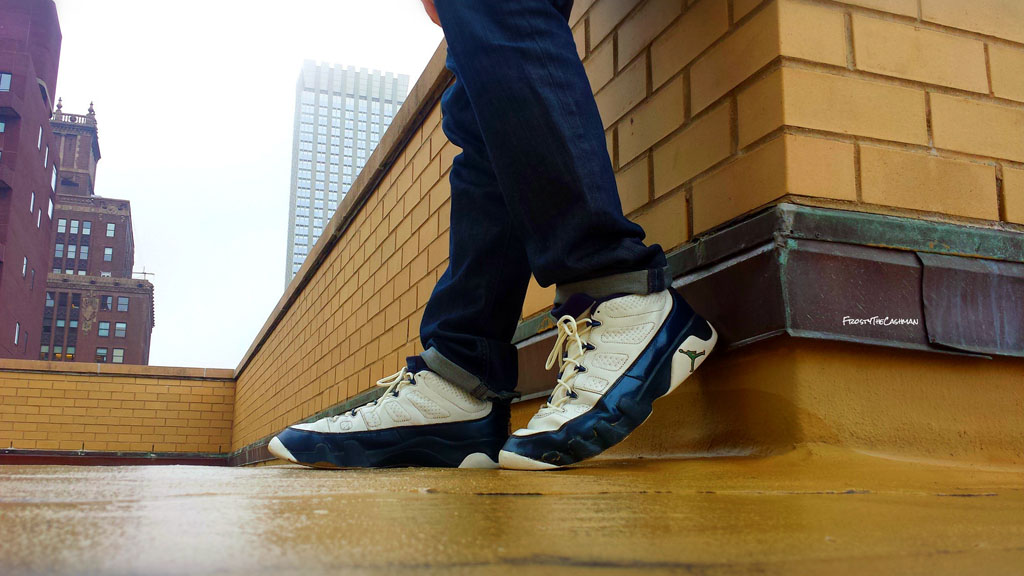 279af0126f0528 ... FrostyTheCashman in the Pearl Air Jordan 9 Retro Low ...