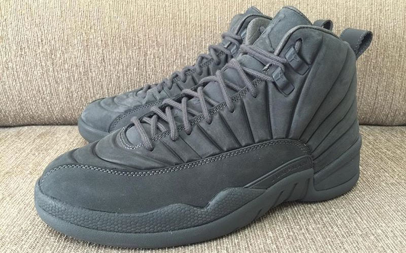 49c7b7f348ba59 A Better Look At Public School s Air Jordan 12 Collaboration