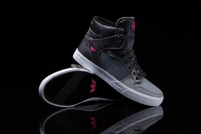 Supra Vaider Grey Pink shoes online hot sale