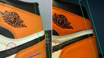 2ac8b6cfe1a How To Tell If Your  Shattered Backboard  Air Jordan 1s Are Real or Fake