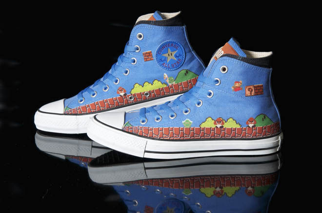 Super Marios Bros. x Converse Chuck Taylor All Star
