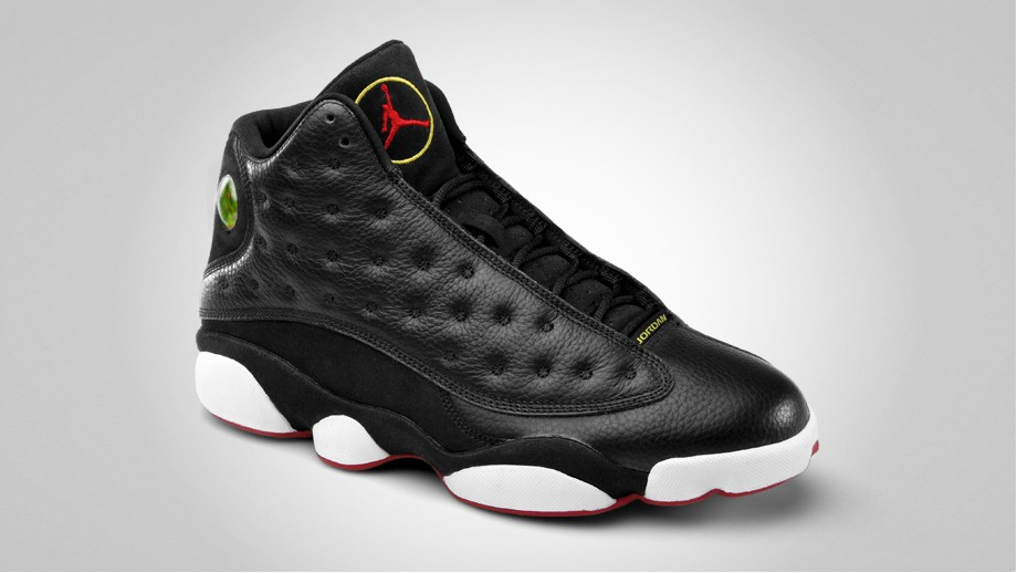 air jordan retro 13 black and white