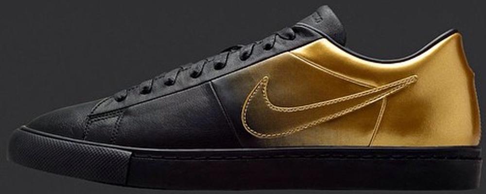 Nike Blazer Low SP Black/Metallic Gold