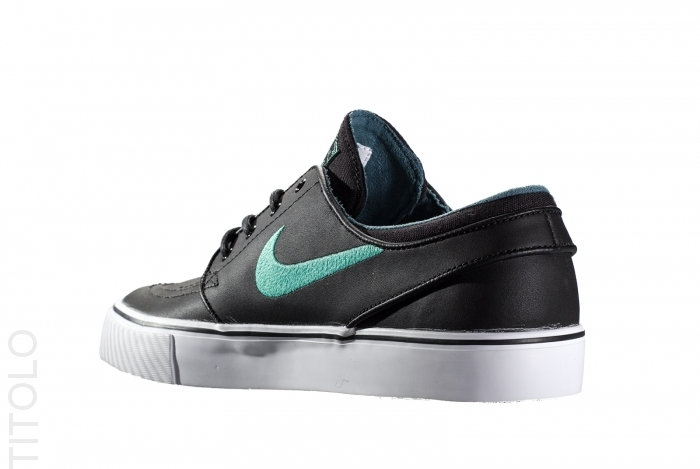 90ecf90b196 Nike Zoom Stefan Janoski - Black Crystal Mint-Night Factor