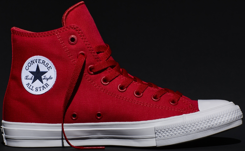 Converse Chuck Taylor All-Star II Hi Salsa Red/White
