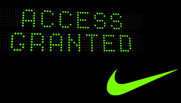 Nike Announces Access Codes for Online Shopping
