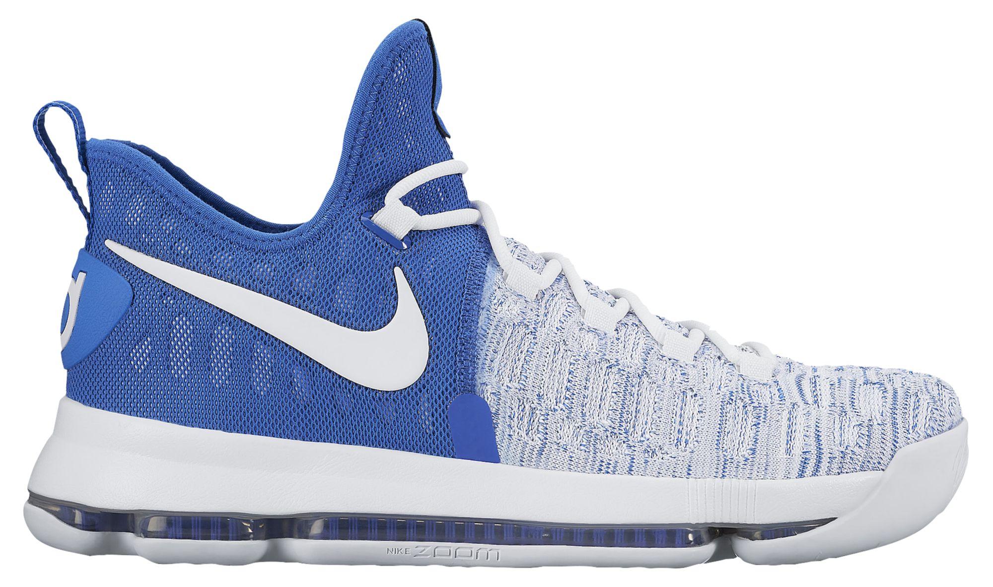 Nike KD 9 Home II White Blue Release Date 843392-411