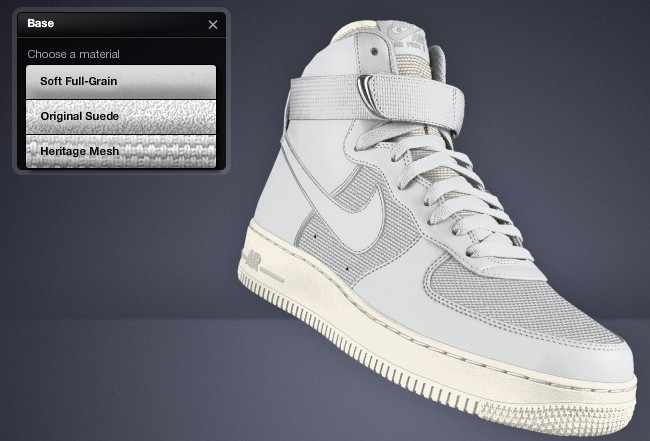 Nike Air Force 1 Premium High & Low on NIKEiD | Sole Collector