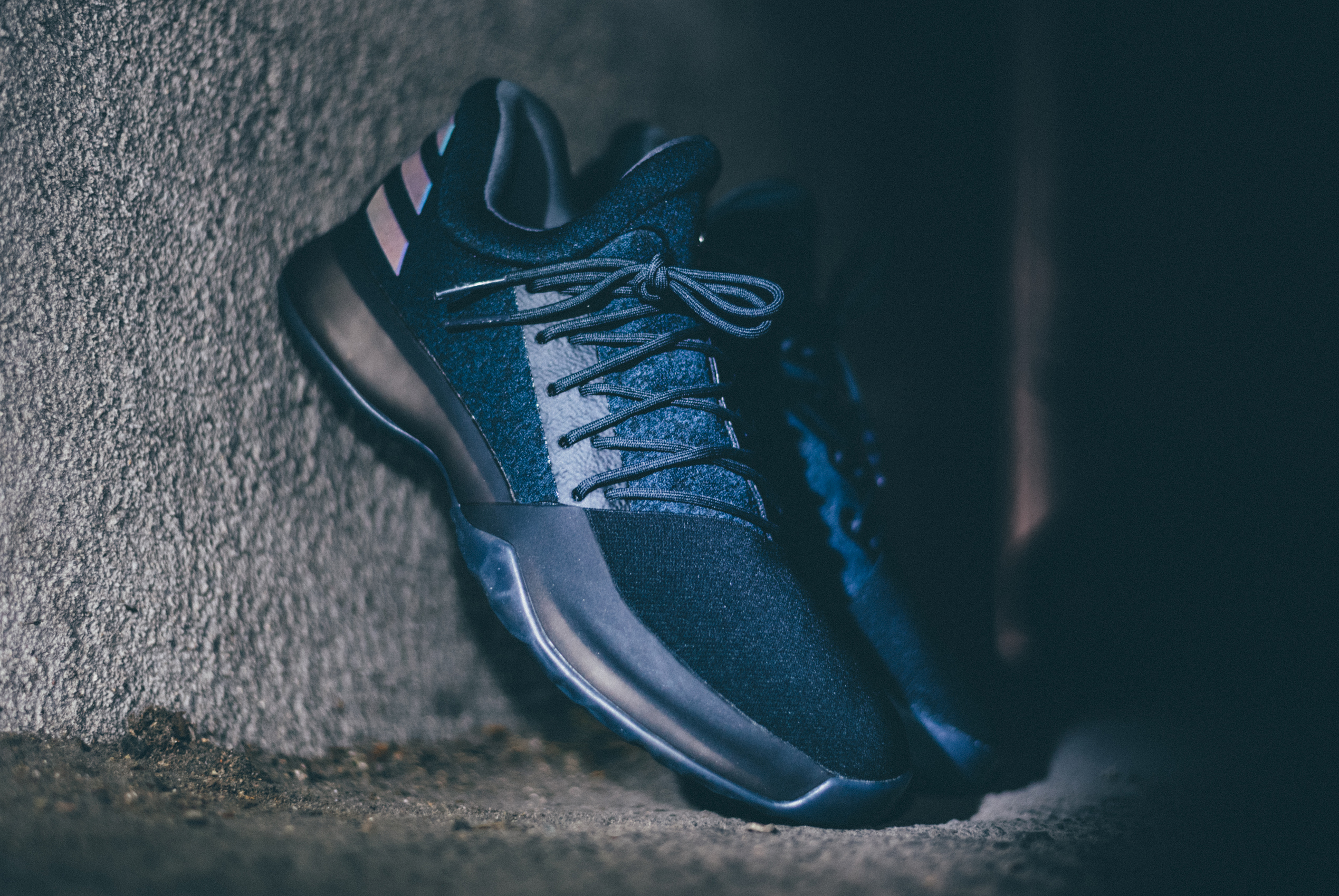 Adidas Harden Vol 1 Triple Black Dark Ops Xeno 2