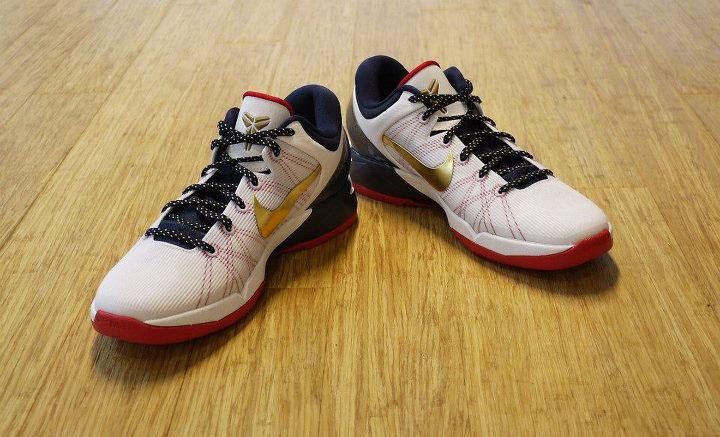 new concept 84220 89f35 Nike Kobe VII Gold Medal Olympics USA 488371-104 (1)