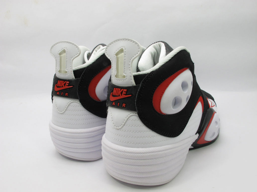 Nike Air Flight One White Black Red Chicago Bulls 538133-101 (3)