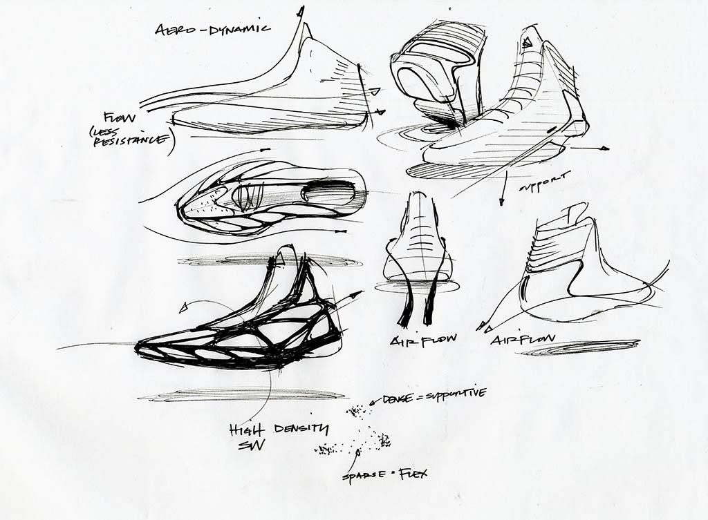 Sketch Work Adidas Adizero Crazy Light 2 Sole Collector